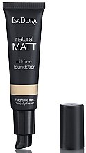 Düfte, Parfümerie und Kosmetik Mattierende Foundation - IsaDora Natural Matt Oil-free Foundation