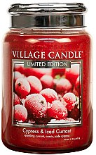 Duftkerze Cypress & Iced Currant - Village Candle Cypress & Iced Currant Glass Jar — Bild N1