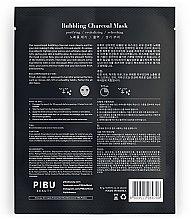 Klärende Blasen-Gesichtsmaske mit Aktivkohle - Pibu Beauty Bubbling Charcoal Mask — Bild N2