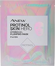 Düfte, Parfümerie und Kosmetik Erfrischende und feuchtigkeitsspendende Tuchmaske mit Protinol - Avon Anew Protinol Skin Hero Hydrogel Plumping Mask