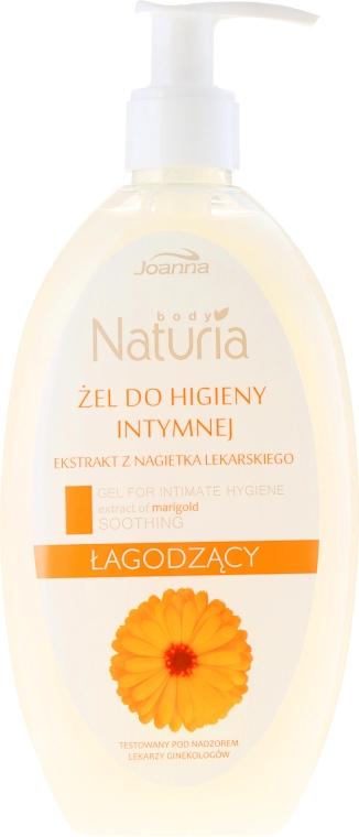 Gel für die Intimhygiene mit Ringelblumenextrakt - Joanna Naturia Intimate Hygiene Gel — Bild N1