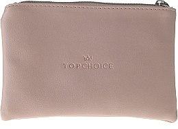 Düfte, Parfümerie und Kosmetik Kosmetiktasche Leather beige 96969 - Top Choice