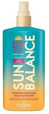 Sonnenschutz Spray für alle Haartypen - Farmona Sun Balance Hair Mist — Bild N1