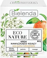 Düfte, Parfümerie und Kosmetik Beruhigende Gesichtscreme mit Pflaume, Jasmin und Mango - Bielenda Eco Nature Kakadu Plum, Jasmine and Mango