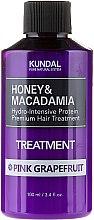 Düfte, Parfümerie und Kosmetik Feuchtigkeitsspendende Haarspülung mit rosa Grapefruit - Kundal Honey & Macadamia Treatment Pink Grapefruit