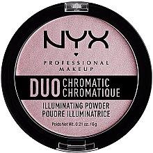 Düfte, Parfümerie und Kosmetik Flüssiger Highlighter - NYX Professional Makeup Duo Chromatic Illuminationg Powder