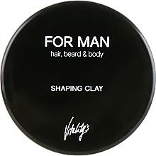 Düfte, Parfümerie und Kosmetik Modellierende Tonerde für das Haar - Vitality's For Man Shaping Clay