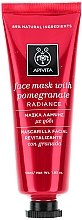 Düfte, Parfümerie und Kosmetik Revitalisierende und strahlende Gesichtsmaske mit Granatapfel - Apivita Revitalizing and Radiance Mask