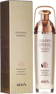 Feuchtigkeitsspendende, aufhellende und verjüngende Gesichtsessenz mit Schneckenschleimextrakt - Skin79 Golden Snail — Bild N1