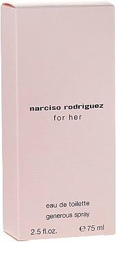 Narciso Rodriguez For Her Generous Spray - Eau de Toilette — Bild N1