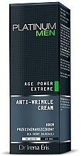 Düfte, Parfümerie und Kosmetik Anti-Falten Gesichtscreme - Dr Irena Eris Platinum Men Age Power Extreme Anti-wrinkle Cream