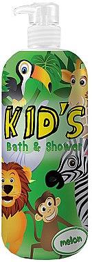 """Duschgel & Badeschaum für Kinder """"Melon"""" - Hegron Kid's Melon Bath & Shower — Bild N1"""
