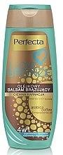 Düfte, Parfümerie und Kosmetik Bronsierende Körperlotion für dunkle Haut - Perfecta I Love Bronze Balm