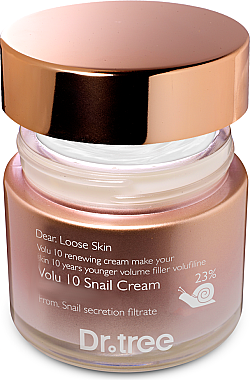 Anti-Falten Gesichtscreme mit Liftingeffekt - Borntree Dr.Tree Volu 10 Snail Cream — Bild N2