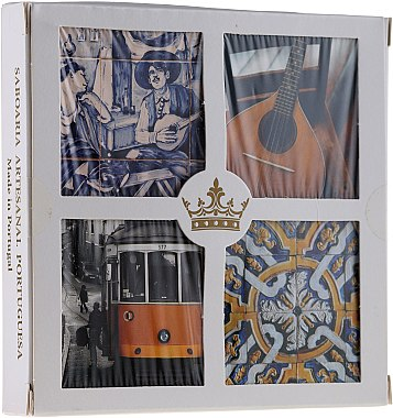 Naturseifen-Geschenkset - Essencias De Portugal Living Portugal (soap/4x50g) — Bild N1