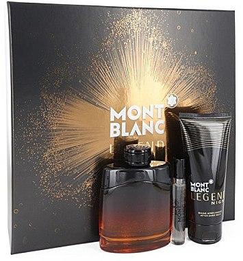 Montblanc Legend Night - Duftset (Eau de Parfum 100ml + Mini 7,5ml + After Shave Balsam 100ml) — Bild N2
