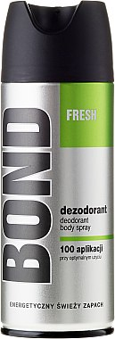 Deospray - Bond Fresh Deo Spray — Bild N1