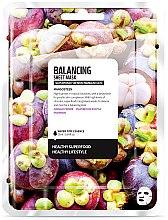 Düfte, Parfümerie und Kosmetik Ausgleichende Tuchmaske mit Mangostan-Extrakt - Superfood For Skin Balancing Sheet Mask