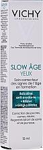 Düfte, Parfümerie und Kosmetik Augenkonturcreme gegen die Zeichen des Alterns für alle Hauttypen SPF - Vichy Slow Age Eye Cream