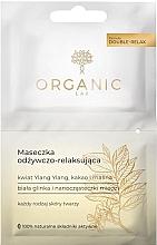 Düfte, Parfümerie und Kosmetik Pflegende und entspannende Gesichtsmaske - Organic Lab Nourishing and Relaxing Face Mask