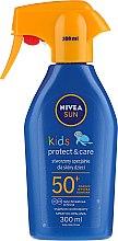 Sonnenschutzspray für Kinder SPF 50+ - Nivea Sun Kids SPF 50+ Caring Sun Spray — Bild N1