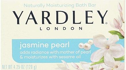 Kosmetische Seife mit Jasmin und Perlmutt - Yardley London Jasmine Pearl Bar Soap — Bild N1