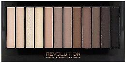 Düfte, Parfümerie und Kosmetik Lidschattenpalette mit 12 Farben - Makeup Revolution Redemption Palette Iconic Elements