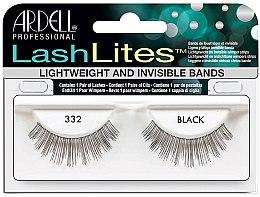 Düfte, Parfümerie und Kosmetik Künstliche Wimpern - Ardell LashLites Black 332