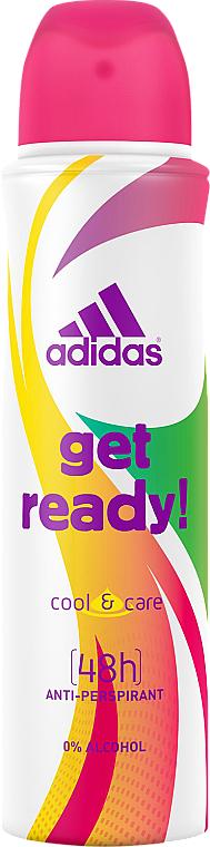 Adidas Get Ready! Cool & Care - Deospray Antitranspirant — Bild N1