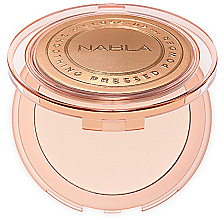 Düfte, Parfümerie und Kosmetik Kompaktpuder für Gesicht - Nabla Close-Up Smoothing Pressed Powder