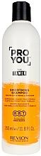 Düfte, Parfümerie und Kosmetik Glättendes Shampoo für krauses und rebellisches Haar - Revlon Professional Pro You The Tamer Shampoo