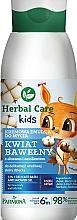Düfte, Parfümerie und Kosmetik 3in1 Cremige Waschemulsion für Kinder mit Aloe und Emollienten - Farmona Herbal Care Kids