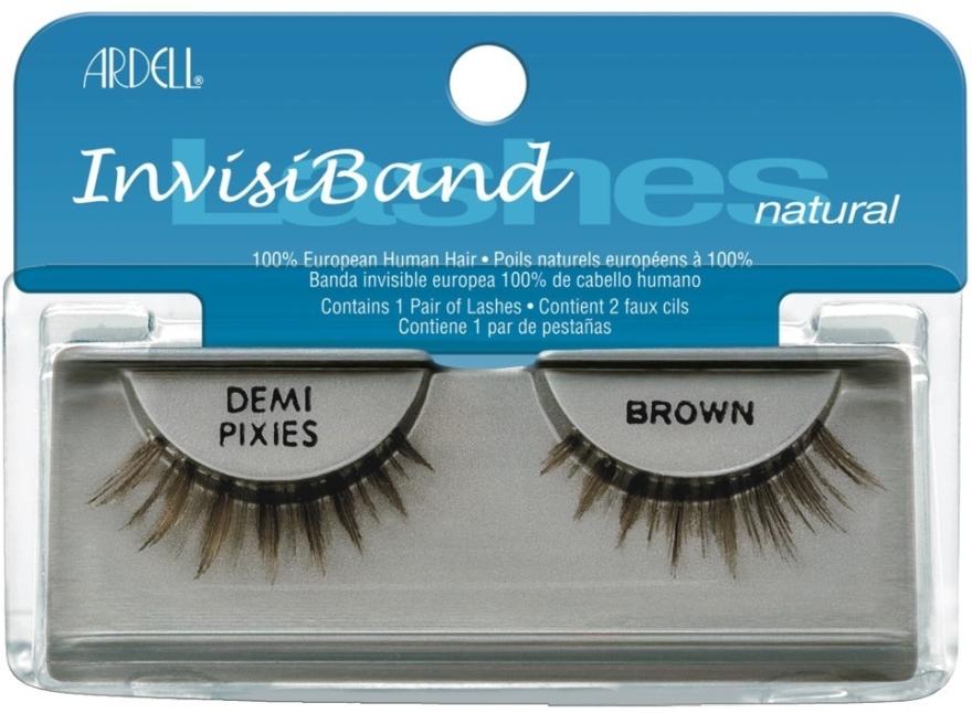 Künstliche Wimpern - Ardell Invisibands Demi Pixies Brown — Bild N1