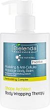 Düfte, Parfümerie und Kosmetik Anti-Cellulite-Körperbalsam - Bielenda Professional Med Technology Massage Body Balm
