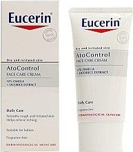 Düfte, Parfümerie und Kosmetik Gessichtscreme - Eucerin Ato Control Face Care Cream