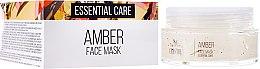 Düfte, Parfümerie und Kosmetik Essentielle Gesichtsmaske mit Bernstein - Hristina Cosmetics SM Crystal Amber Face Mask