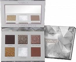 Düfte, Parfümerie und Kosmetik Lidschattenpalette - Nabla Cutie Collection Palette Platinum