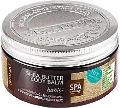 Düfte, Parfümerie und Kosmetik Feuchtigkeitsspendender und regenerierender Körperbalsam Habibi - Organique Shea Butter Body Balm Habibi