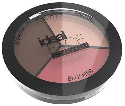 Gesichtskontur-Palette - Ingrid Cosmetics Ideal Face Foundation — Bild N1