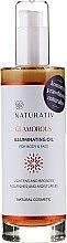 Körperöl - Naturativ Glittering Body Oil — Bild N1