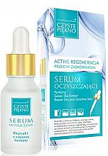 Düfte, Parfümerie und Kosmetik Gesichtsreinigungsserum mit Extrakt aus grünem Tee - Czyste Piekno Face Serum