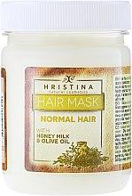 Düfte, Parfümerie und Kosmetik Maske für normales Haar - Hristina Cosmetics Hair Mask