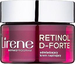 Düfte, Parfümerie und Kosmetik Verjüngende und straffende Tagescreme 60+ - Lirene Retinol D-Forte Rejuvenating Day Cream For Skin Tightening 60+