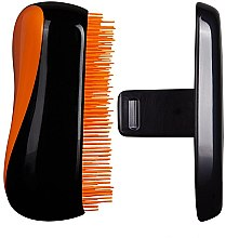 Kompakte Haarbürste - Tangle Teezer Compact Styler Neon Orange Brush — Bild N2