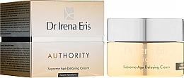 Düfte, Parfümerie und Kosmetik Anti-Aging Nachtcreme - Dr Irena Eris Authority Supreme Age Delaying Cream