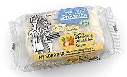 Düfte, Parfümerie und Kosmetik Bio Gesicht- und Körperseife mit Süßmandelöl und Calisson Parfüm - Secrets De Provence My Soap Bar Sweet Almond Oil