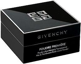 Düfte, Parfümerie und Kosmetik Loser durchsichtiger Puder mit Matteffekt - Givenchy Poudre Premiere Mat & Translucent-finish Loose Powder