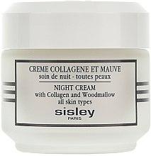 Düfte, Parfümerie und Kosmetik Straffende Nachtcreme mit Kollagen - Sisley Creme Collagene Et Mauve Botanical Night Cream
