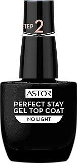 Hochglänzender Überlack mit Gel-Effekt - Astor Perfect Stay Gel Top Coat — Bild N1