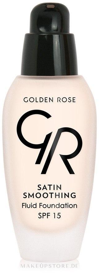 Glättende Foundation LSF 15 - Golden Rose Satin Smoothing Fluid Foundation SPF15 — Bild 21